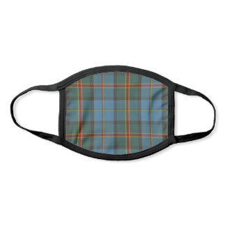 Hawaii State Clan Tartan Plaid Pattern Face Mask