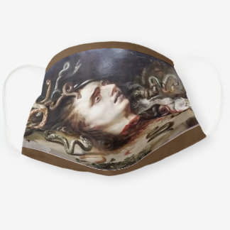 Head of Medusa / Peter Paul Rubens Cloth Face Mask