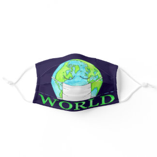 Heal Our World Adult Cloth Face Mask