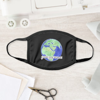 Heal Our World Face Mask