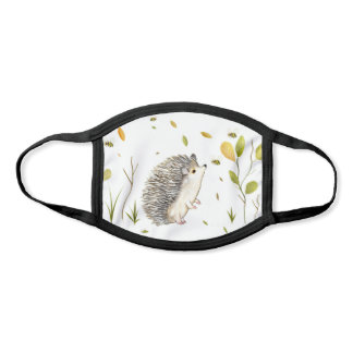 Hedgehog and Bees Face Mask
