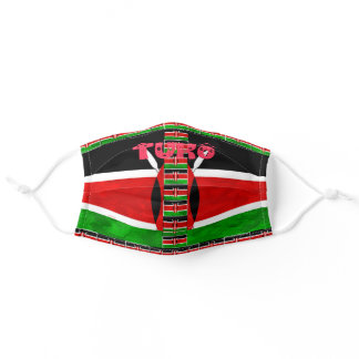 Help Slow The Spread Kenya COVID19 We Will Survive Adult Cloth Face Mask