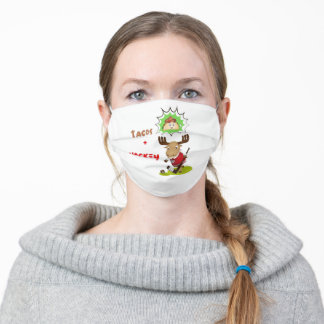 Hockey And Tacos Adult Cloth Face Mask