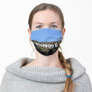 Hollywood Sign Adult Cloth Face Mask