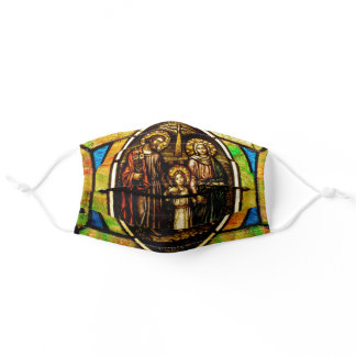 Holy Family Jesus, Mary and Joseph Adult Cloth Face Mask