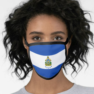 Honduran flag face mask