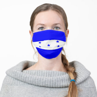 Honduras flag country flag symbol nation ethnic adult cloth face mask