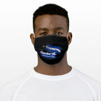 Honduras Independence Day Adult Cloth Face Mask