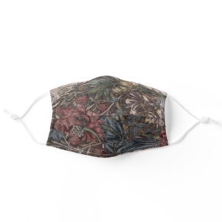 Honeysuckle, 1874, By William Morris Vintage art Adult Cloth Face Mask