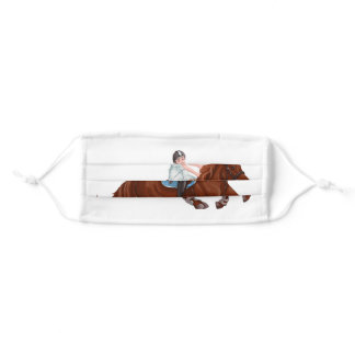 Horse Adult Cloth Face Mask