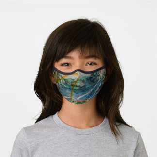 Houston Texas Lake Premium Face Mask