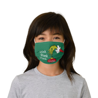 How the Grinch Stole Christmas Face Kids' Cloth Fa Kids' Cloth Face Mask