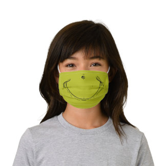How the Grinch Stole Christmas Face Kids' Cloth Face Mask