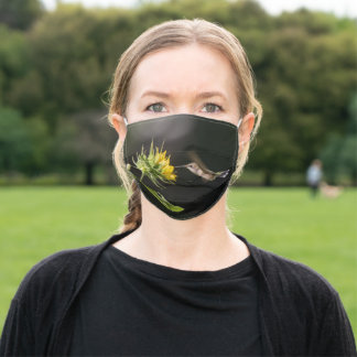 Hummingbird And Sunflower Adult Cloth Face Mask