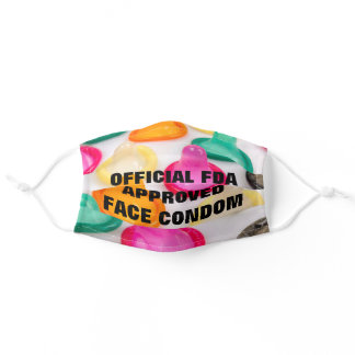 Humorous COVID-19 Adult Cloth Face Mask