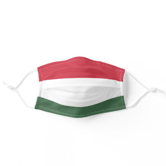 Hungary Flag Cloth Face Mask