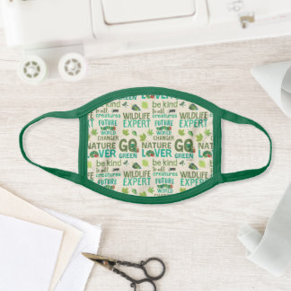 Hungry Caterpillar | Future World Changer Pattern Face Mask