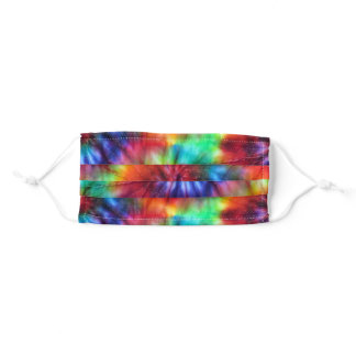 I Can See Through Time Tie Dye Adult Cloth Face Mask