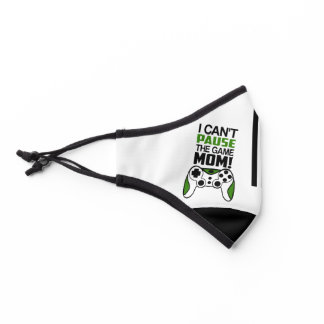 I can't pause the GAME Mom - Gamer Life Covid Premium Face Mask