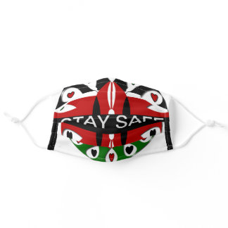I Love You Stay Safe Adult Cloth Face Mask