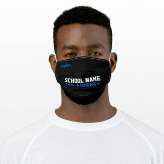 Ice Hockey Adult Cloth Face Mask