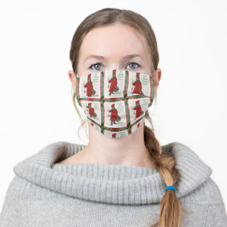 Idun Wishing You Health, Wealth and Happiness Adult Cloth Face Mask