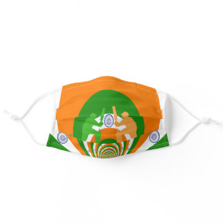 India national cricket COVID19 Adult Cloth Face Mask