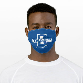 Indiana State University Adult Cloth Face Mask