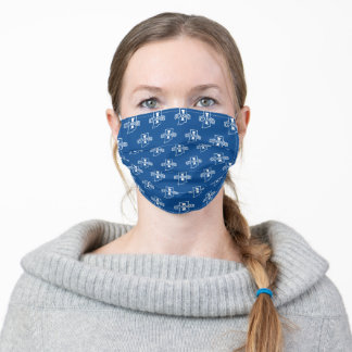 Indiana State University Pattern Adult Cloth Face Mask