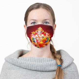 India's Lord Ganesh Face Mask