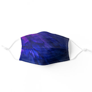 Indigo Wing Deep Blue Adult Cloth Face Mask