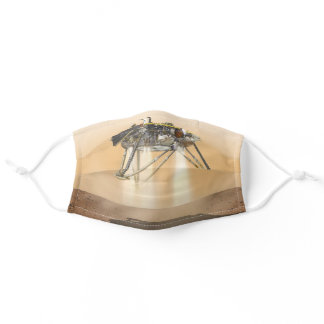 InSight Landing on Mars Adult Cloth Face Mask