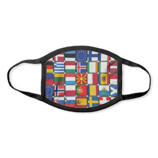 international flags travel face mask