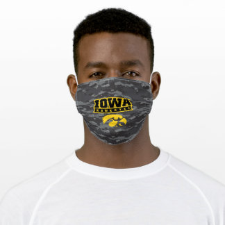 Iowa Hawkeyes | Camouflage Adult Cloth Face Mask