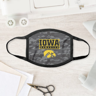 Iowa Hawkeyes | Camouflage Face Mask