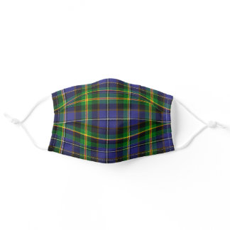 Iowa State Clan Tartan Plaid Pattern Adult Cloth Face Mask