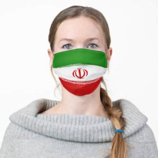 Iran Flag Adult Cloth Face Mask