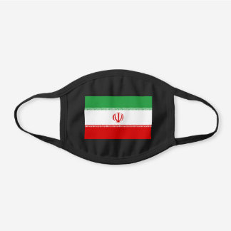 Iran Flag Cotton Face Mask
