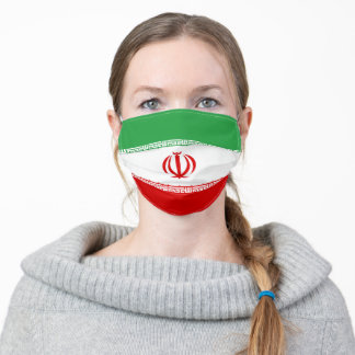 Iran & Iranian Flag Mask - fashion/sports fans