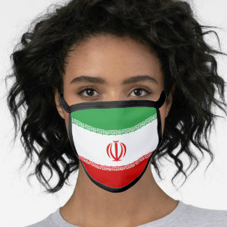Iranian (Persian) flag Face Mask