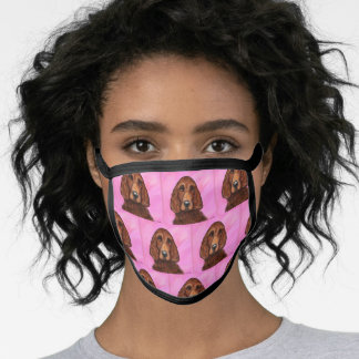 IRISH SETTERS FACE MASK