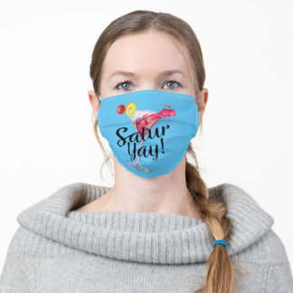 It's Saturyay Adult Cloth Face Mask