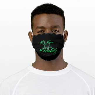 It's time to hockey adult cloth face mask