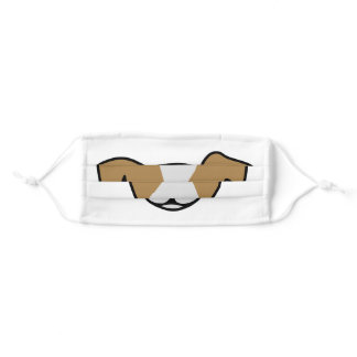 Jack Russell Face Mask