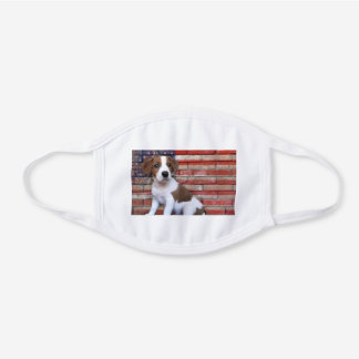 Jack Russell Terrier dog cotton face mask