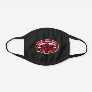 Jacksonville State Gamecocks Black Cotton Face Mask