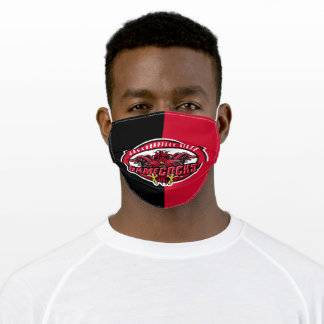 Jacksonville State Gamecocks Colorblock Adult Cloth Face Mask