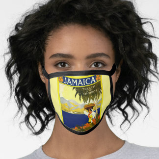 Jamaica, the Gem of the Tropics Face Mask