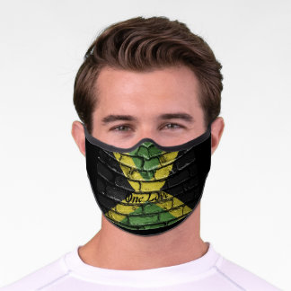 Jamaican One Love Face Mask