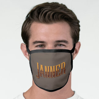 Janner Devon Dialect Slang Face Mask